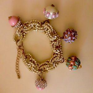 Mint Condition Exquisite Charm Bracelet